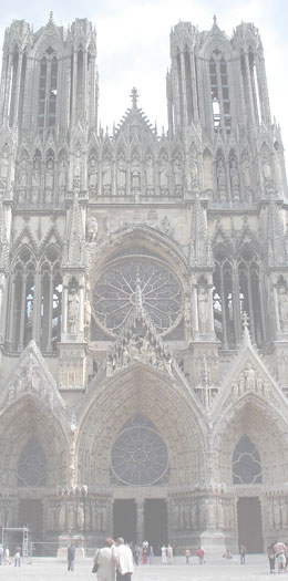 Cathedrale Reims Strasbourg