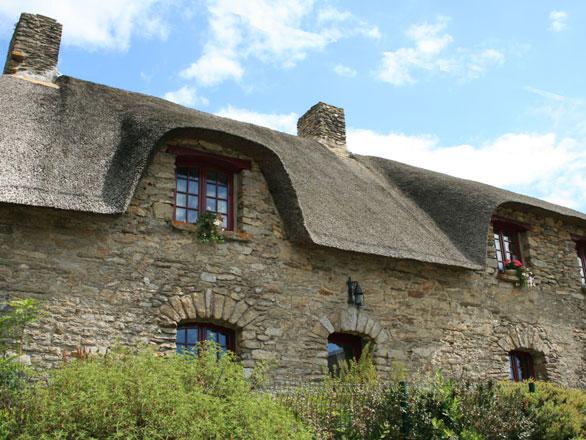 Photo maison traditionnelle bretonne bretagne - Maison traditionnelle bretonne ...