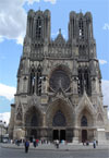 La cathedrale de Reims, a voir en France